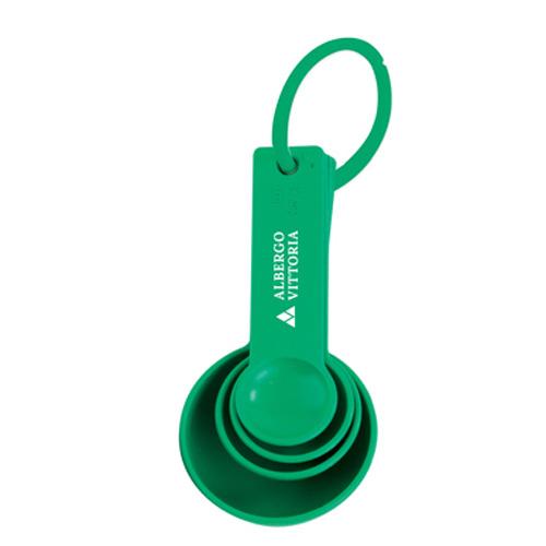 Measuring Spoon Set Standard in green