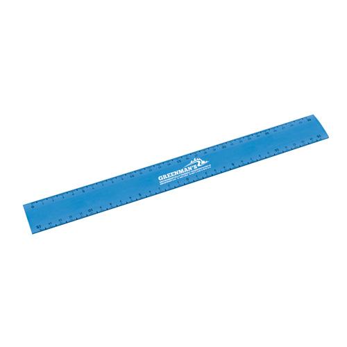 Flexi Ruler 30cm in blue