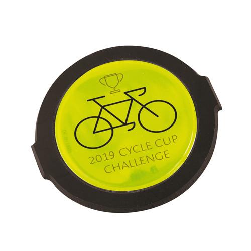 Hi Vis Spoke Reflector in yellow