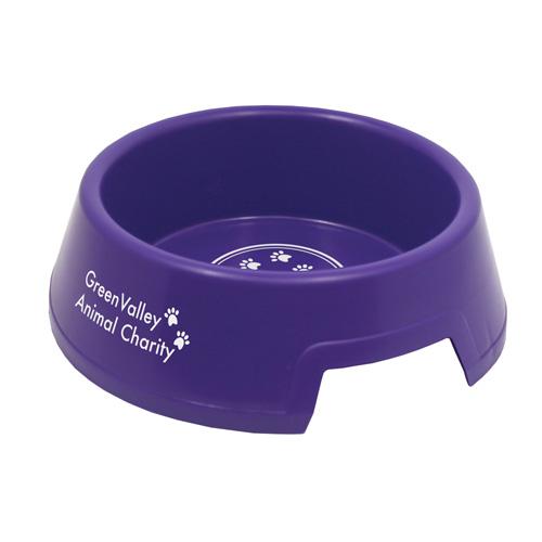 Dog Bowl Large in purple