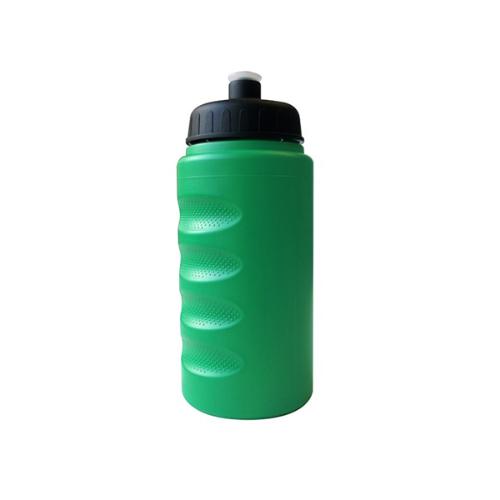 500ml Finger Grip Baseline Bottle in green