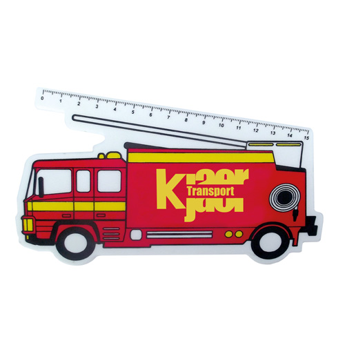 Ruler - Fire Engine Ruler (150mm)
