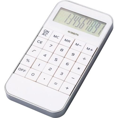 Plastic phone style calculator.