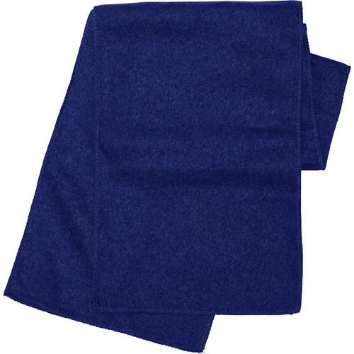 Fleece scarf. in blue