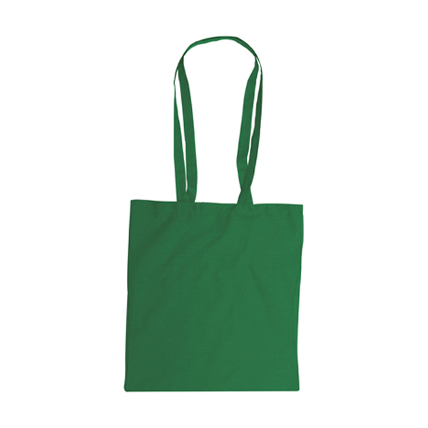 Bag with long handles, Colours in green
