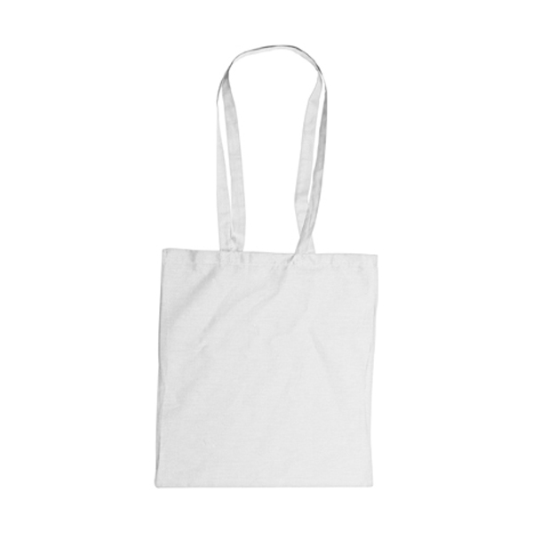 Bag with long handles, Colours in white