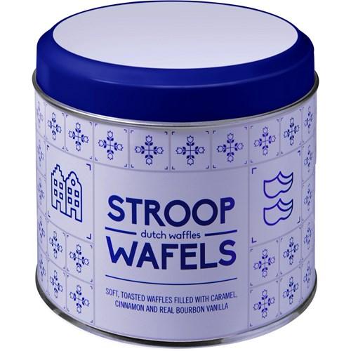 Dutch stroop caramel waffles.
