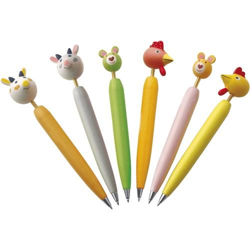 Animal ballpen in multicoloured
