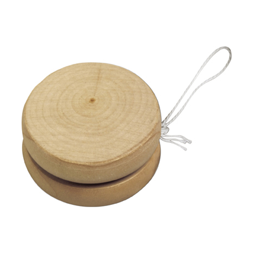 Wooden yo-yo in