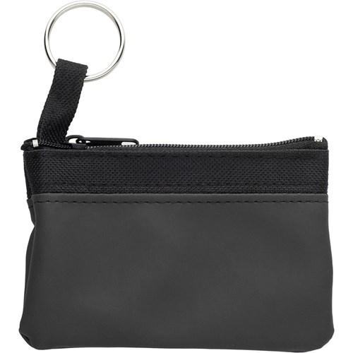 Key wallet in bordeaux