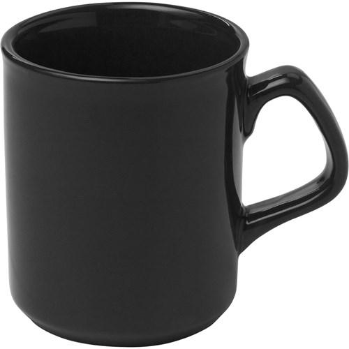Mug, 250ml. WHITE & COLS in black