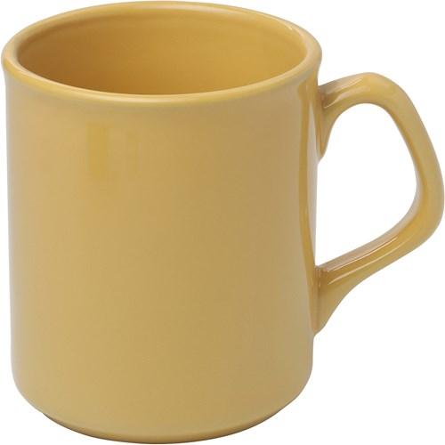 Mug, 250ml. WHITE & COLS in yellow