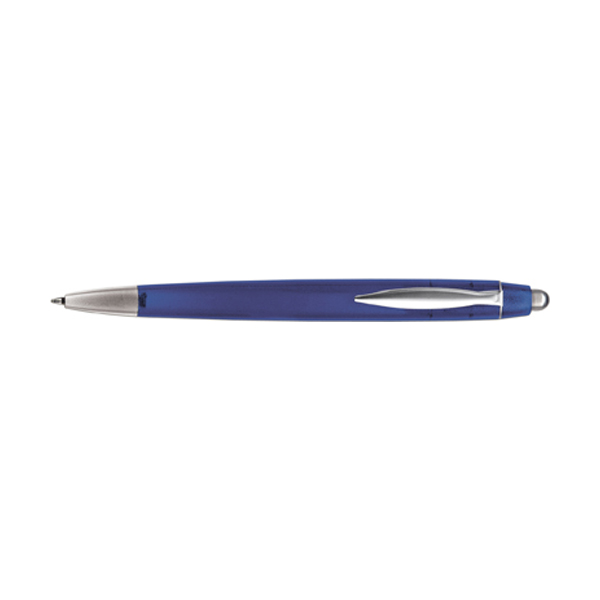 Rimini ballpen with blue ink. in blue