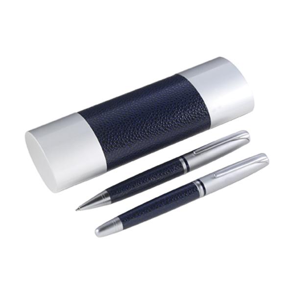 Sienna pen set in blue