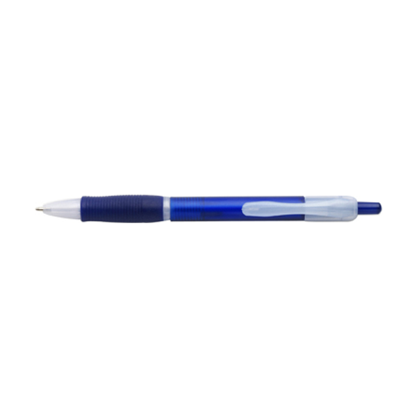 Storm ballpen with black ink. in blue
