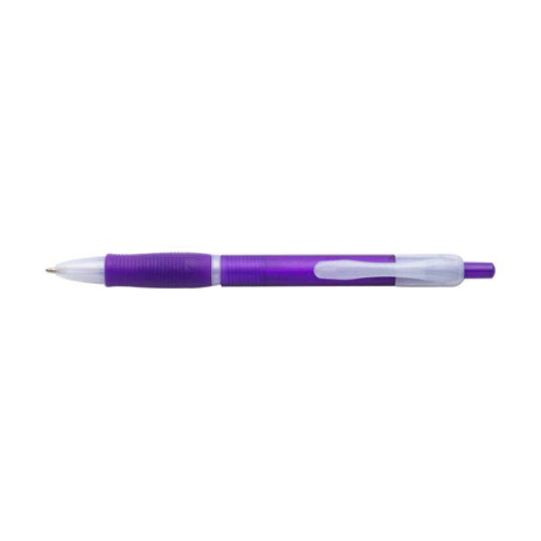 Storm ballpen with black ink. in purple
