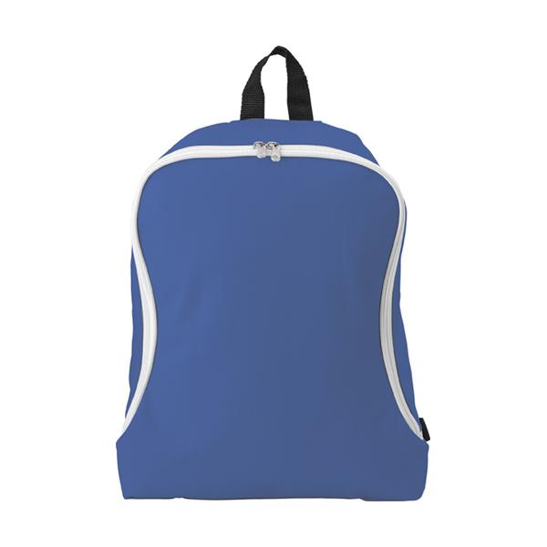 Polyester backpack. in cobalt-blue