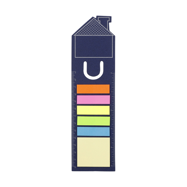 House bookmark in blue