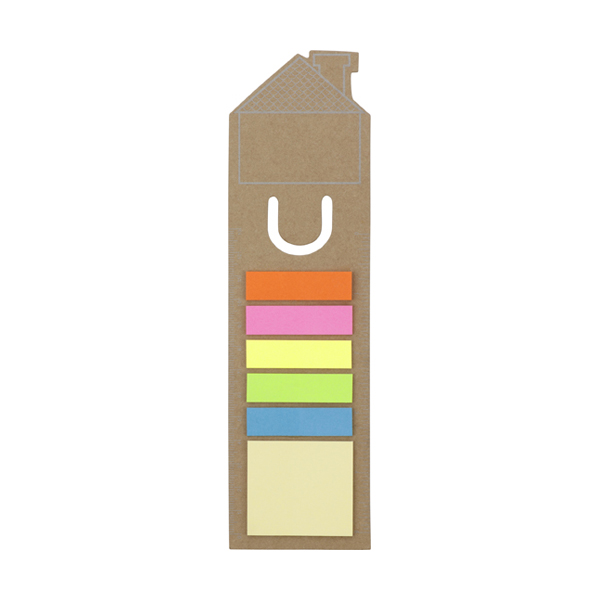 House bookmark in brown