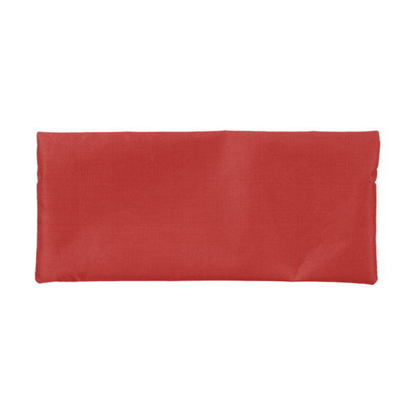 Pencil case. in red