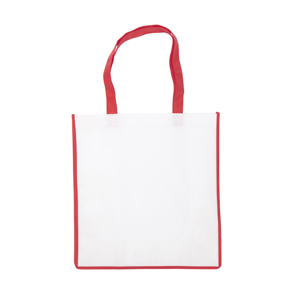 Non-woven bag in red