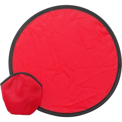 Foldable nylon frisbee in yellow