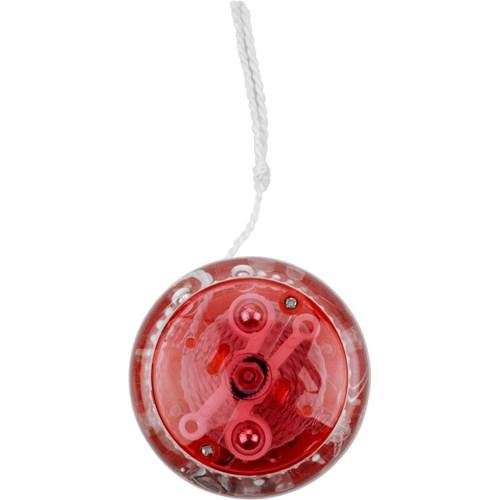 Plastic light-up yo yo. in red