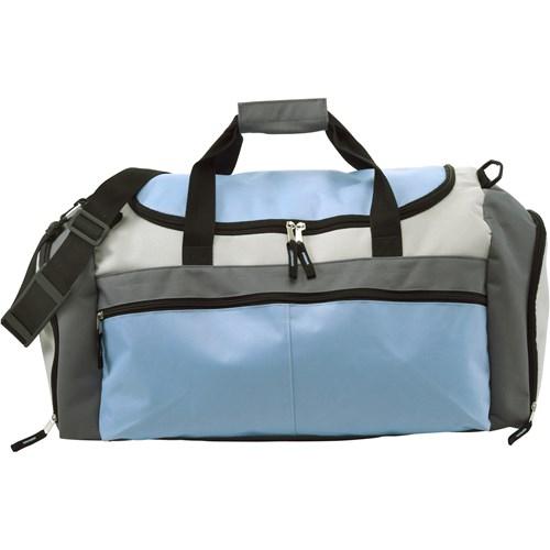 Large sports bag in light-blue