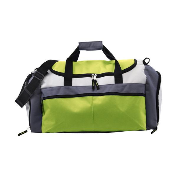 Large sports bag in lime