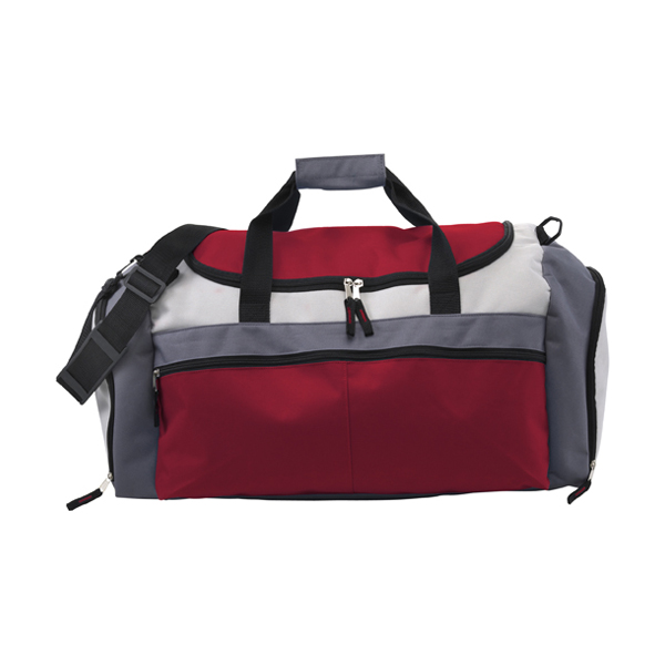 Large sports bag in red