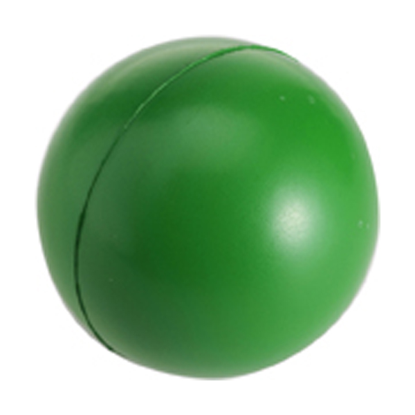 Anti stress ball in green