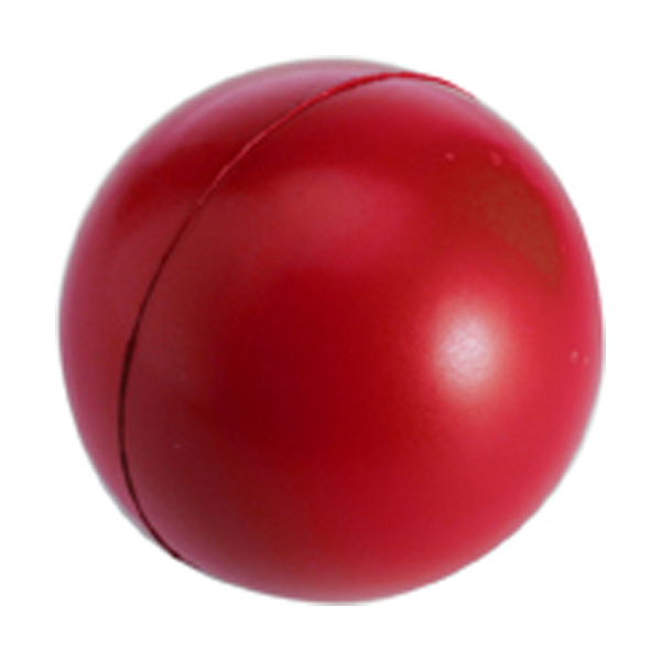 Anti stress ball in red