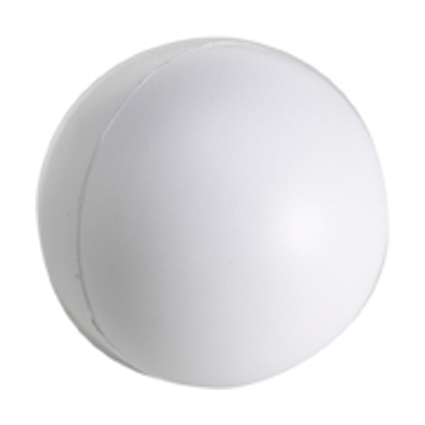 Anti stress ball in white