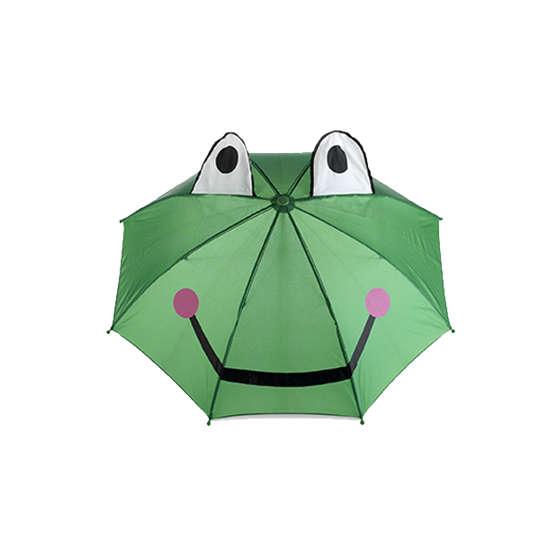 Animal umbrella in green