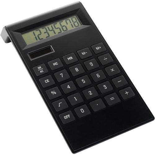 Desk calculator in black