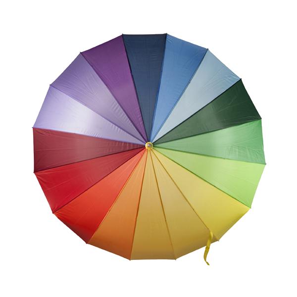 Umbrella in multicoloured