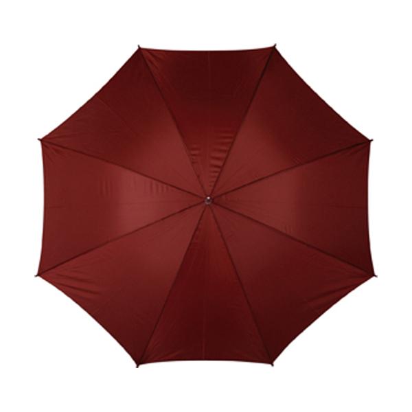 Golf umbrella in bordeaux