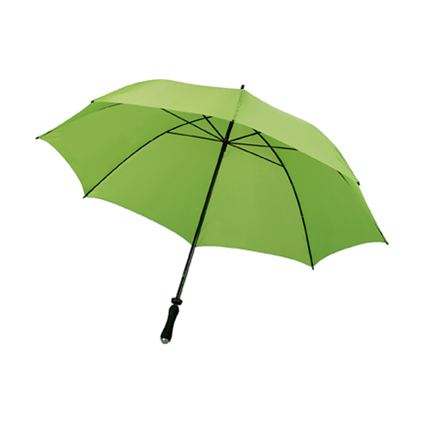 Sports/golf umbrella in light-green
