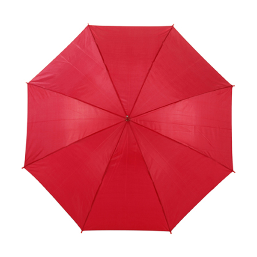 Automatic umbrella in red