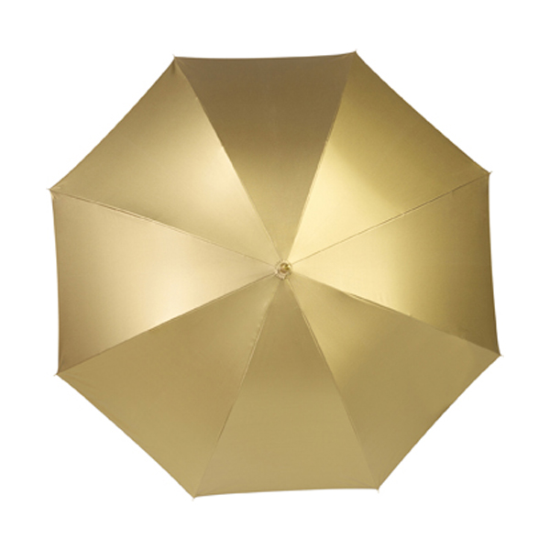 Nylon umbrella in gold
