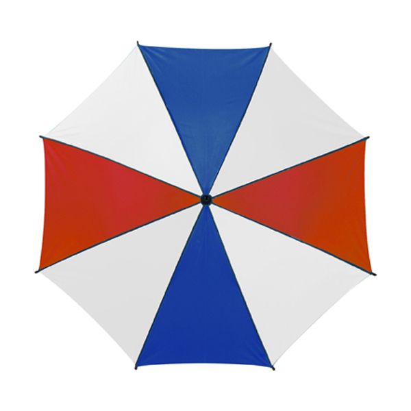 Classic style umbrella in red-and-white-and-blue
