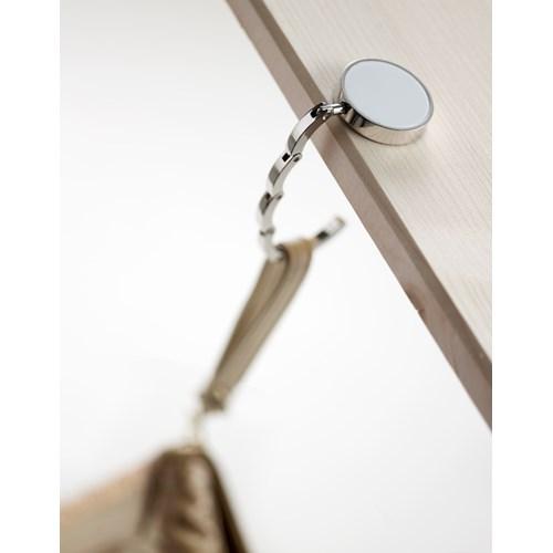 Bag hook, metal  in white
