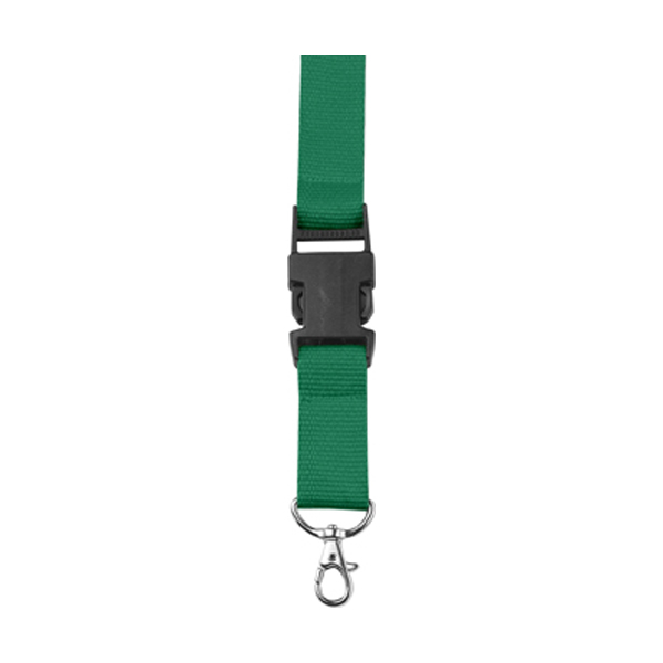 Lanyard and key holder in green