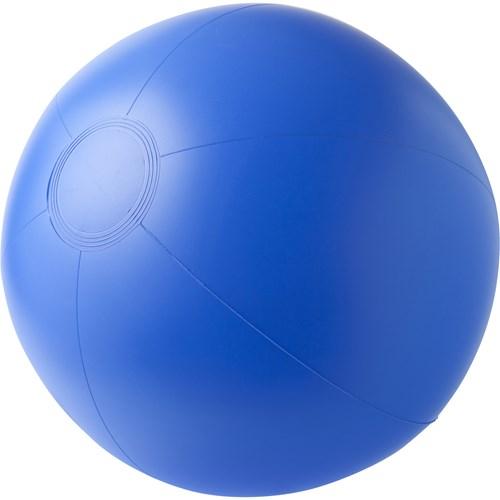 Beach ball, 35cms deflated in blue