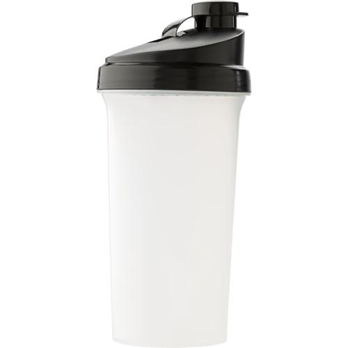 Protein shaker. 700ml in black