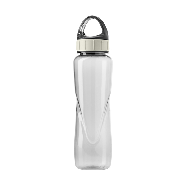 Tritan water bottle. in transparent