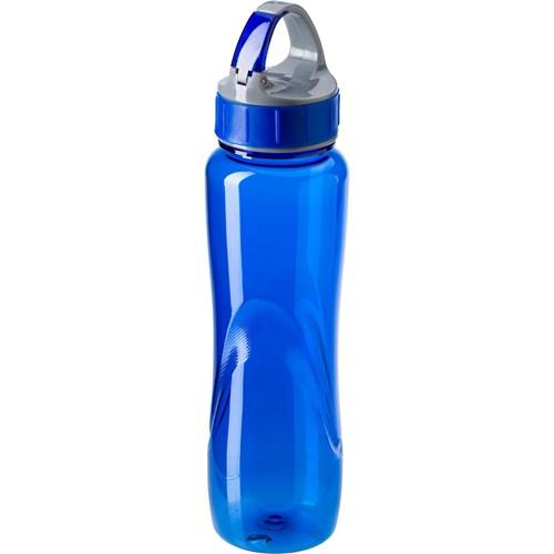Tritan water bottle. in blue