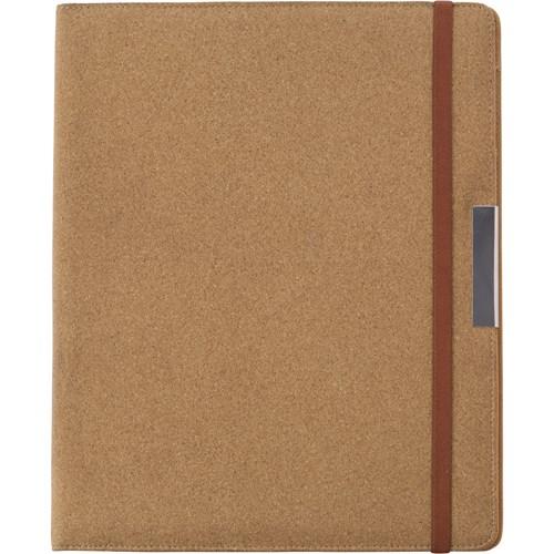A4 Cork portfolio. in brown