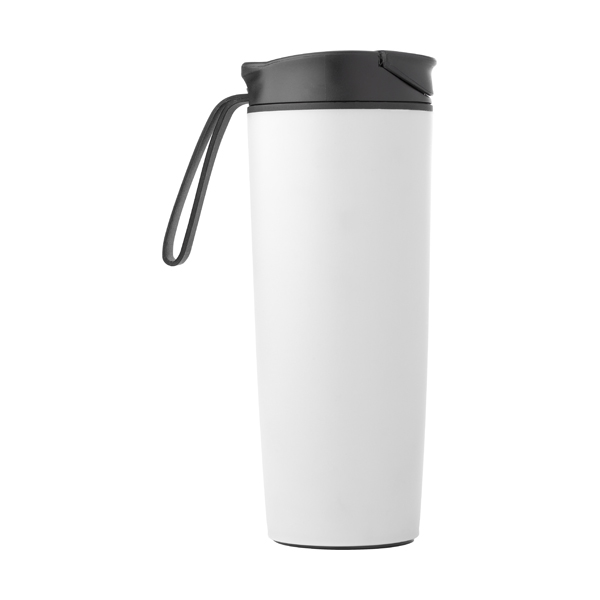 450ml Thermos flask. in white