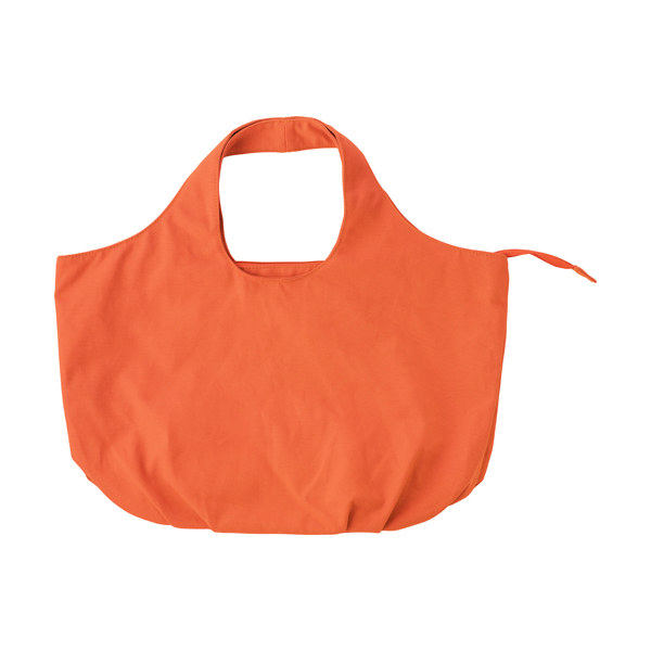Cotton, 12oz beach bag.  in orange